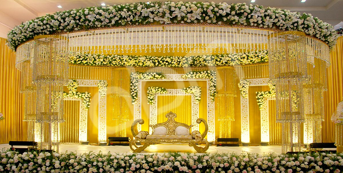 Wedding Stage Decoration 2017 Top 25 Best Wedding Stage Decoration