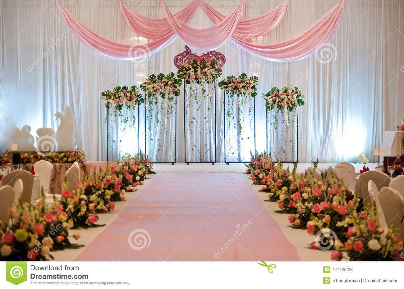 Christian Wedding Stage Decorations Image Collections Wedding
